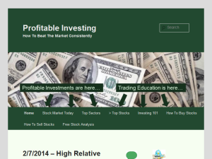 Profitable Investing Blogging Fusion Blog Directory