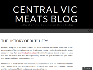 Central Vic Meats Blogging Fusion Blog Directory