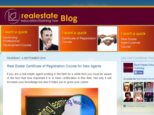 Reet Real Estate Property Management Training Blogging Fusion Blog Directory