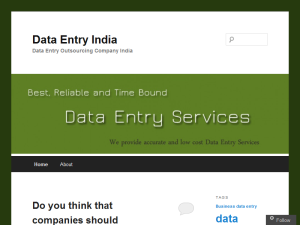 Data Entry India | Data Entry Outsourcing Blogging Fusion Blog Directory