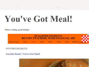 You've Got Meal! Blogging Fusion Blog Directory
