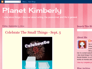 Planet Kimberly Blogging Fusion Blog Directory