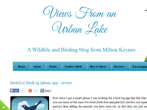 Views From an Urban Lake Blogging Fusion Blog Directory