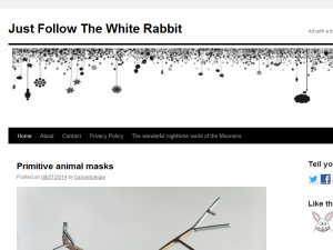 Just Follow The White Rabbit Blogging Fusion Blog Directory