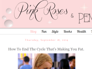 Pink Roses and Pencils Blogging Fusion Blog Directory