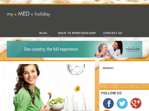 MyMEDHoliday Medical Tourism Blog Blogging Fusion Blog Directory