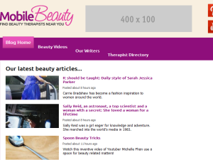 Mobile Beauty UK Blogging Fusion Blog Directory