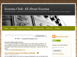 Eczema Club: All About Eczema Blogging Fusion Blog Directory