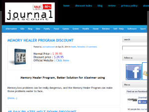 Journal Discount || GET EXCLUSIVE DISCOUNT FOR YOU Blogging Fusion Blog Directory