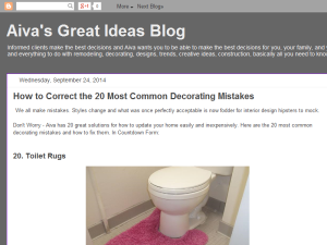 Aiva Decor Great Ideas Blog Blogging Fusion Blog Directory