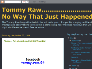 Tommy Raw... No Way That Just Happened