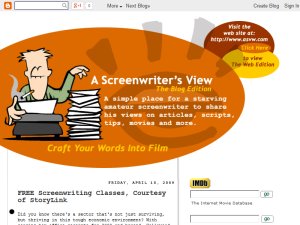 A Screenwriter's View