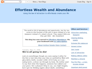 Effortless Wealth