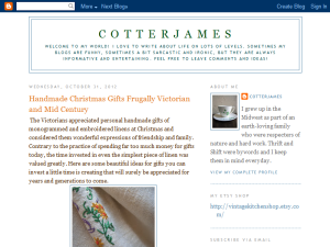 Cotter James Blogging Fusion Blog Directory