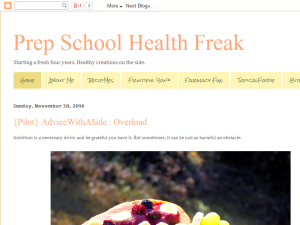 Prep School Health Freak