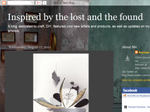 inspired by the lost and found Blogging Fusion Blog Directory