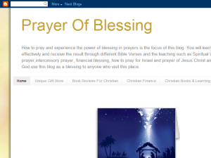 Prayer Of Blessing Blogging Fusion Blog Directory