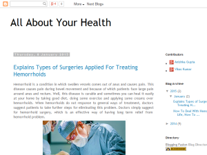 Infos Health Care Blogging Fusion Blog Directory