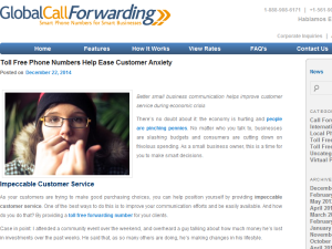 Global Call Forwarding Blogging Fusion Blog Directory