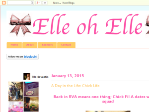 Elle oh Elle: Life and Style Blog Blogging Fusion Blog Directory