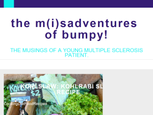 The M(i)Sadventures of Bumpy!