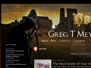 Author Greg T Meyers - Hope Blog Blogging Fusion Blog Directory