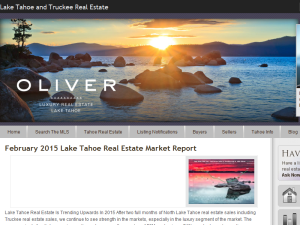 Lake Tahoe Real Estate Blog