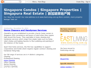 Singapore Property and Real Estate News Blogging Fusion Blog Directory