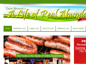 Life of Real Abundance Blogging Fusion Blog Directory
