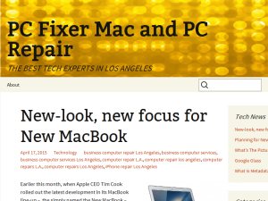 PC Fixer Mac and PC Repair Blogging Fusion Blog Directory
