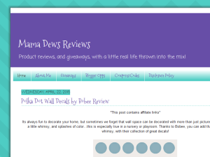 Mama Dews Reviews Blogging Fusion Blog Directory