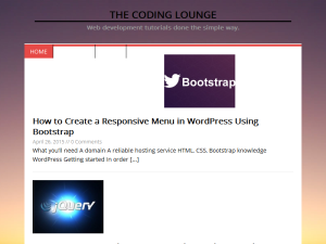 Coding Lounge Blogging Fusion Blog Directory