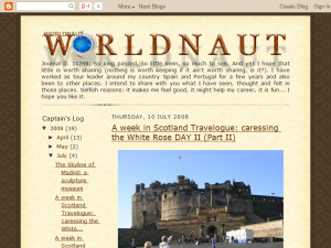 worldnaut Blogging Fusion Blog Directory