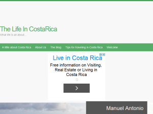 The Life in Costa Rica Blogging Fusion Blog Directory