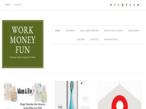 Work Money Fun Blogging Fusion Blog Directory