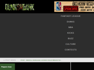 DunksnDank | NBA Headlines, Culture & Events | Reviews, & News Blogging Fusion Blog Directory
