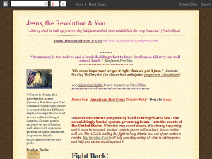 God, History and You Blogging Fusion Blog Directory