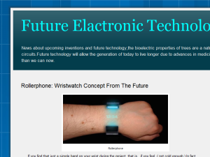 Future Elactronic Technology Blogging Fusion Blog Directory