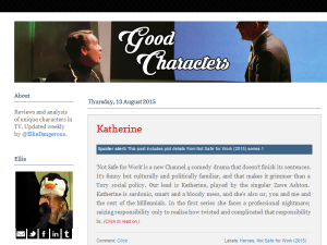Good Characters Blogging Fusion Blog Directory