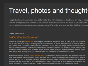 Travel, Photos and Thoughts Blogging Fusion Blog Directory