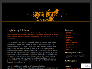 Mediapirate Blogging Fusion Blog Directory