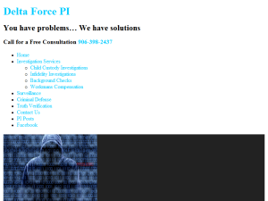 Delta Force PI Blogging Fusion Blog Directory