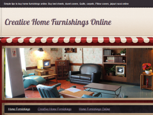 Creative Home Furnishings Online Blogging Fusion Blog Directory
