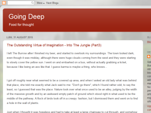 Going Deep Blogging Fusion Blog Directory