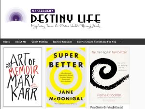 Destiny Life: Exploring Inner & Outer Worlds Through Books Blogging Fusion Blog Directory