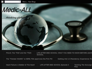 Medic-ALL blog Blogging Fusion Blog Directory