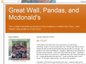 Great Wall, Pandas, and McDonald's