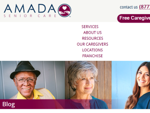 Amada Senior Care - Senior Resources Blogging Fusion Blog Directory