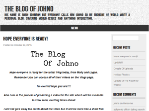 Blogging Fusion Blog Directory SOM Winners The Blog Of Johno