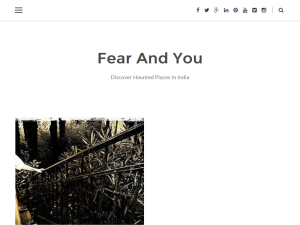 Haunted Places in India Blogging Fusion Blog Directory